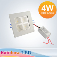 NEW Ultra-high brightness Free shipping 4W LED Ceiling Light 85V-265V   450LM