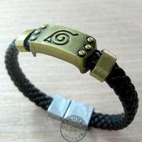 Free Shipping New Anime Naruto Konoha Sasuke Uchiha Cosplay Accessories Bracelet Costume New