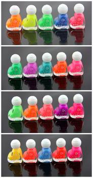 Eco-friendly luminous nail polish oil luminous nail love discoloration polish oil luminous 6ml