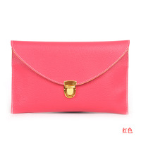 Lowest price in  2013 promotion envelope lady clutches bags,leather shoulder bags woman,bags for woman,free shipping!