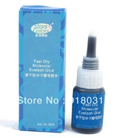 2013 newest fast dry molecular eyelash glue eyelash extension adhesvie fast drying