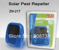 Free shipping 1 pc Solar Panel Sun Powered Rat Cockroaches Mosquito Pest Control Repellant Repeller