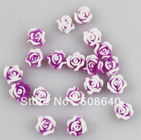 Excellent Quality 200pcs/lot 3D Soft Flower  Fingernal & Toe Decoration Nail Art Care Tips Sticker For Fashion Salon Nail 540
