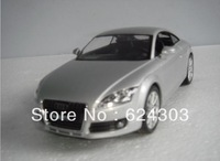 Free Shipping! 2013  newest !   1:24  Audi TT alloy  Car Model