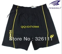 Free shippingThe badminton shorts badminton clothing jersey stretch cotton fabric for male and female four-color optional