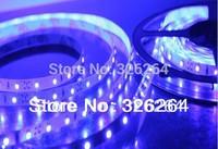 Free HK post air mail shipping 12V 300leds strip lightings/LED lights 3528 SMD 60leds/M  Non-waterproof 5M/Lot / led lights