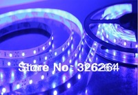 Free HK post air mail shipping 12V 300leds strip lightings/LED lights 3528 SMD 60leds/M  Non-waterproof 5M/Lot / led lights