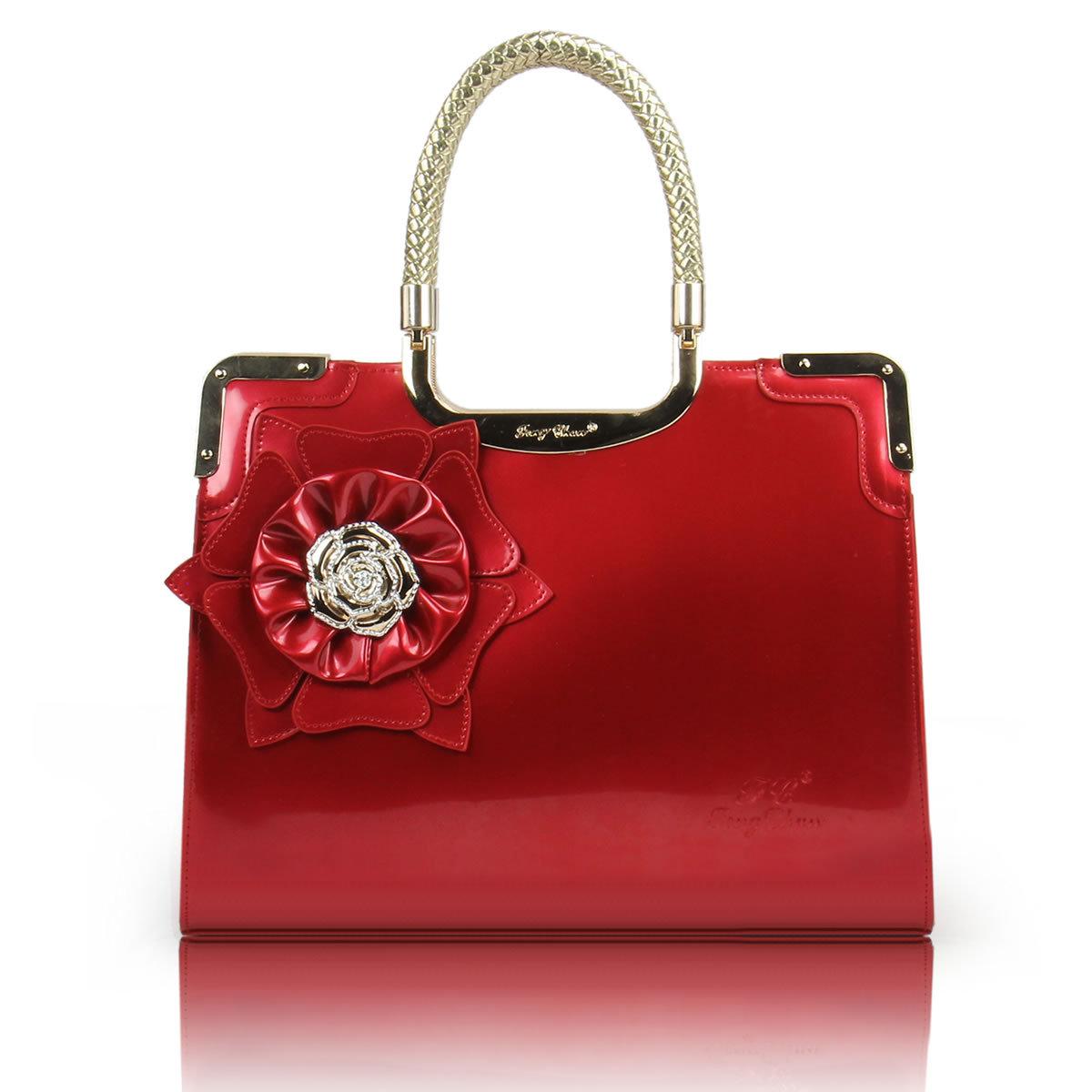 اللي تحب الاحمر تدخل بسرعة 2013-fashion-handbag