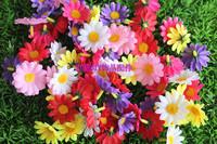Diy handmade sunflower little daisy artificial flower silk flower fabric flower chrysanthemum artificial flower