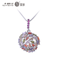 free shipping EEL2013 new crystal pendant Pendant Fashion inlaid jewelry gift for Valentine's Day gifts for women