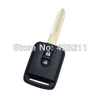 Remote Key Shell Case For NISSAN X-trail Navara Micra Almera 2 Buttons  FT0021