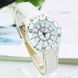 Watch manufacturers to high-grade imitation ceramic leisure belt Women's watch business promotional gifts Table 144647(China (Mainland))