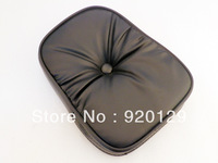 BACKREST Black CUSHIONED Pad for Harley Honda Kawasaki Suzuki Yamaha Free shipping