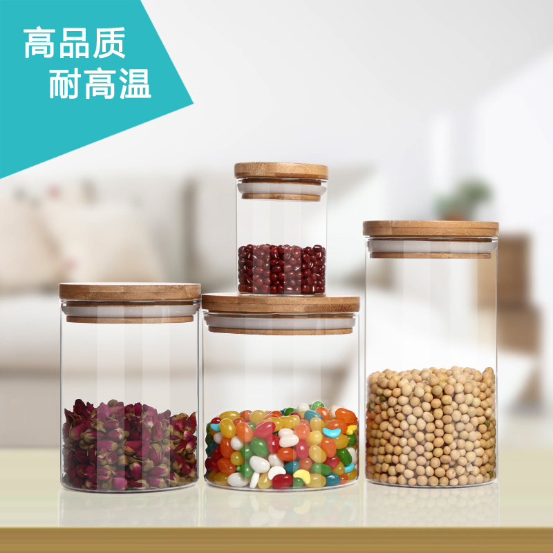 1000ML Sealed cans candy glass jar miscellaneously storage tank flower tea milk powder storage tank sealed cans(China (Mainland))