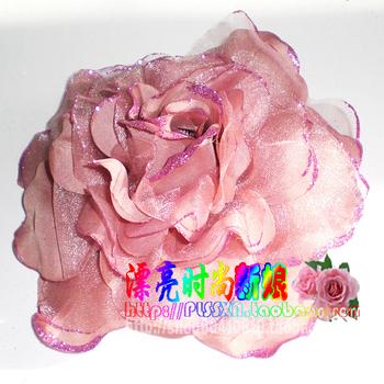 Stella free shipping Banquet evening dress costume brooch corsage bride flower hand flower