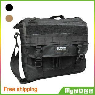 Free shipping! New U.S. Black Hawk laptop bag Military Outdoor Shoulder Messenger Bag Leisure travel bag 2-color optional