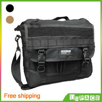 Free shipping! New U.S. Black Hawk laptop bag Military Outdoor Shoulder Messenger Bag Leisure travel bag 2-color optional