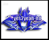 Customized fairing -Customize -2010 2009 FZ6R For Yamaha Motorcycles Fairing Bodykit Blue White