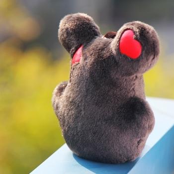 Mouse plush toy girls favorite bags key wallet keychain  anime prints