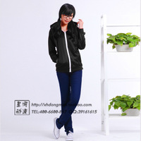 cosplay anime costume hatsune miku jacket GUMI black dress Russian Doll suit sportswear