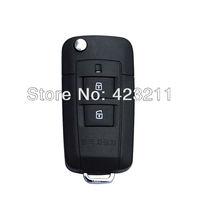 Flip Folding Remote Key Shell Case For Hyundai Santa Fe Sonata 2BT + Panic  FT0089