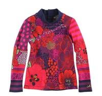 Fancy female catimini millenum T-shirt child long-sleeve top basic shirt