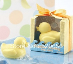 Free shipping duck scented soap savon wedding soap favors wedding gifts wedding souvenirs baby shower favor gift(China (Mainland))