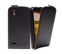 Genuine Original Leather Flip Case Cover For HTC Desire V T328W / Desire X T328e Wholesales Free shipping