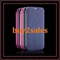 PU Leather Case For Galaxy S4 I9500 Wallet Design With Microfiber No Smel Nonhazardous Material Shipping Soon Support Wholesale