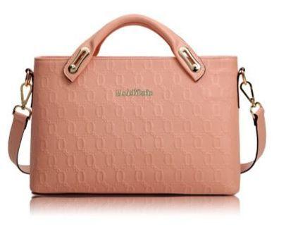 JiYe Womens Top-Grade Pu Leather Crocodile Pattern Shoulder Bag Red Deal