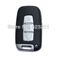 Blank Remote Smart Key Shell Case For Hyundai Elantra Genesis i30 iX35 3BT  FT0278