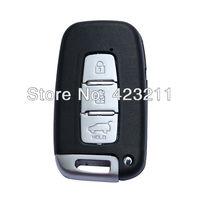 Blank Remote Smart Key Shell Case For Hyundai Elantra Genesis i30 iX35 3BT  FT0278