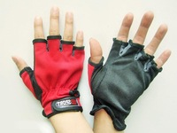 Free shipping! retail show half finger  gloves outdoor semi finger slip-resistant gloves, fishing&sport gloves