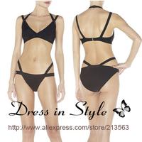 2013 Free Shipping Sexy Hot Summer Bandage H L Bikini Monokini Beachwear Swimwear Swimsuit Women Lady BodyCon DS920