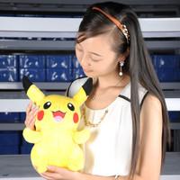 """13"""" pikachu New pokemon Soft Stuffed Animal Plush toy smilling"""