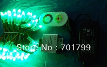 100pcs IP68 12V 12mm RGB dump node+rgb touch controller+12V/4A power adaptor