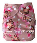 new arrived now for  baby daily used  Risunny baby print diaper 20 set cloth diaper with 20 pieces insert /lot