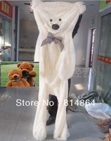 "Детская плюшевая игрушка 70"" toys skin 3color Teddy bear plush toys coat Biggest SIZE 180CM 2014 Valentine's Day, birthdays, Christmas, New Year gifts"