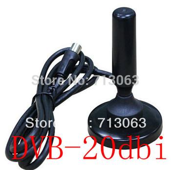 wholesale 20dBi DVB-T Antenna For DVB-T HDTV TV signal Free shipping