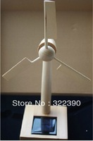 Ventilation fan solar windmill wind turbine  model birthday gifts novelty gift toy