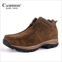Camssoo male outdoor medium cut shoes walking shoes casual shoes lh2067