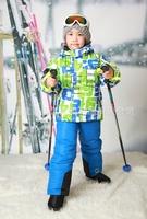wholesaleWholesale children's clothing children's clothing cotton-padded clothes children suit children's ski clothing foreign t
