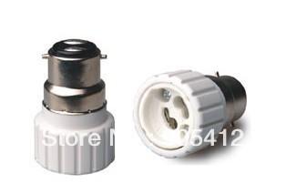 10pcs Chinapost delivery sample testing B22 to GU10 lamp holder lamp socket two years warranty(China (Mainland))