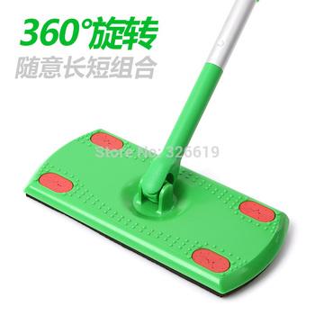 Free shipping Rotating steve floor special mop flat mop