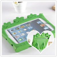 2013 New EVA SOFT RUBBER  STAND COVER CASE FOR Mini ipad soft cover case +gift screen protectors.free shipping.