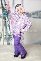 wholesaleWholesale children's clothing children's ski suit jacket child suit foreign trade of the original single waterproof win