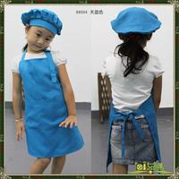 Free shipping Baby apron child baby apron hat oversleeps set 8800411