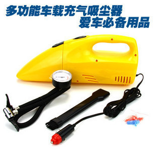 Two-in-one car air pump vacuum cleaner automotive tools electrical appliances dual tire pressure table