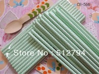 Free shipping Drinking Paper Straws,Chevron paper drinking Straws 1000pcs/lot wholesale light blue