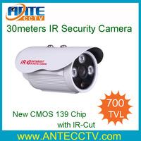 CCTV 700TVL CMOS CCD High line Array IR LED Security camera 6mm Surveillance Camera